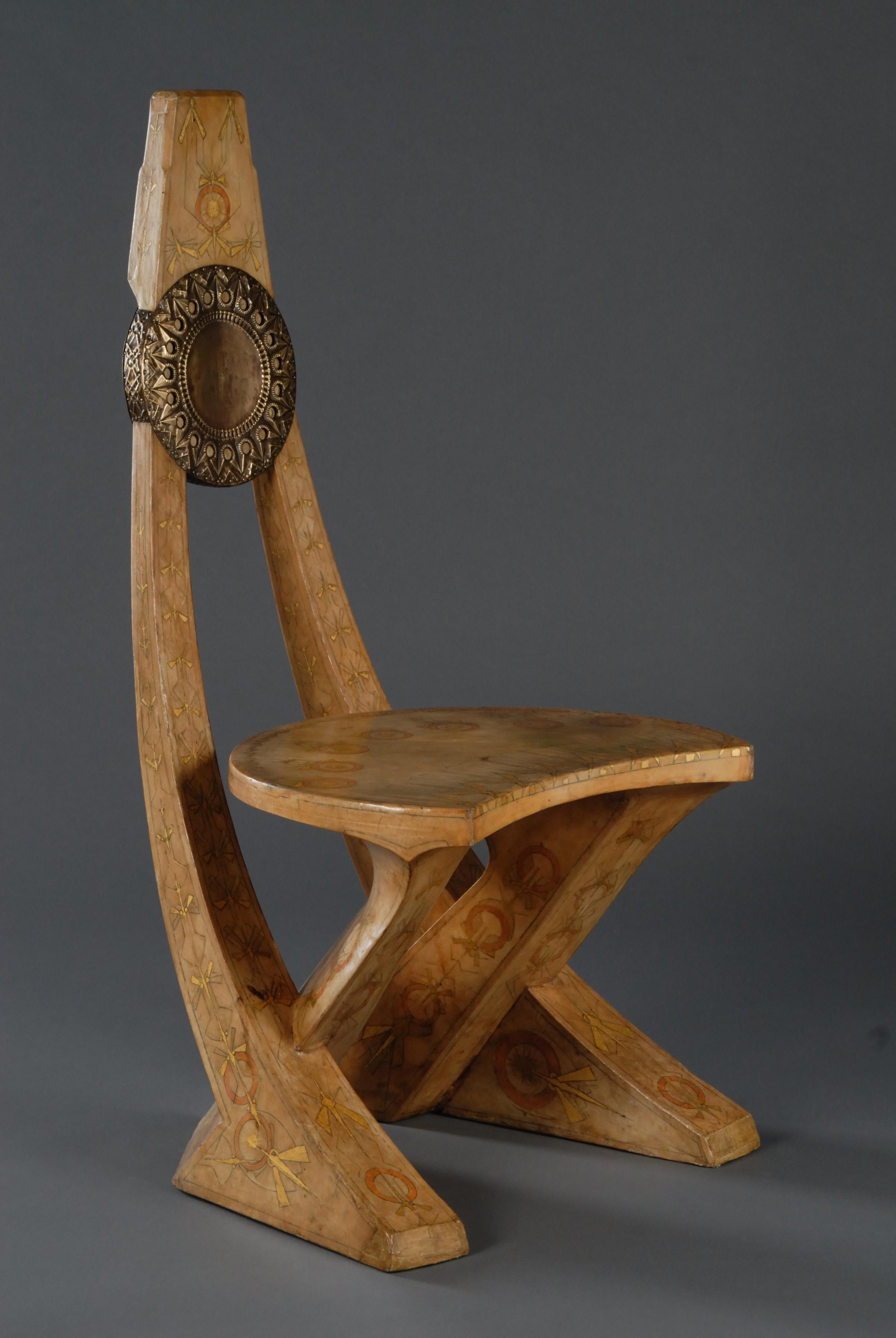 Poltrona e sedia a disegno antropomorfo galleria daniela - Sedia a dondolo disegno ...