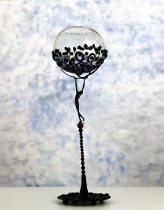 Scultura in ferro e vetro